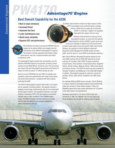 PW4000-100 ENGINE