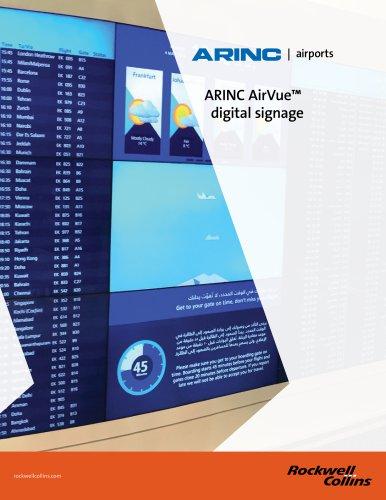 ARINC AirVue™ digital signage