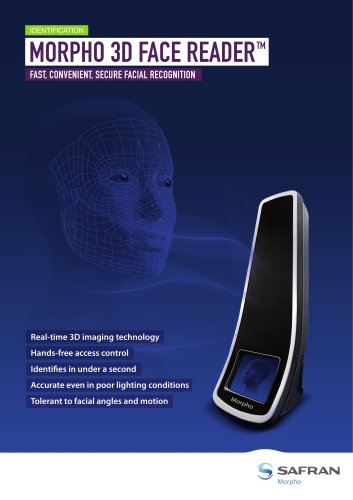 Morpho 3D Face Reader