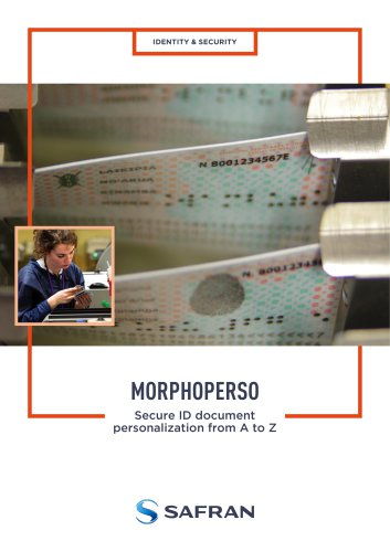 MorphoPerso Brochure