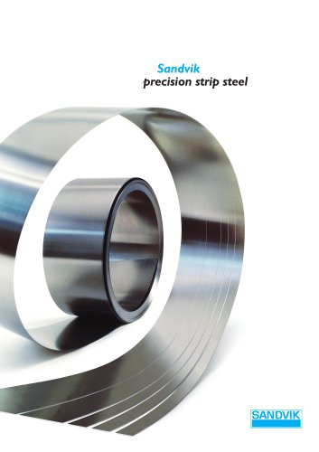 Sandvik precision strip steel