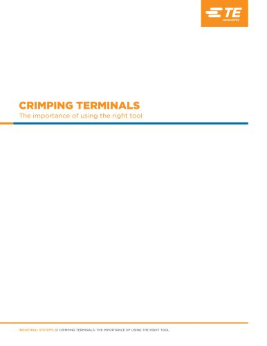 CRIMPING TERMINALS