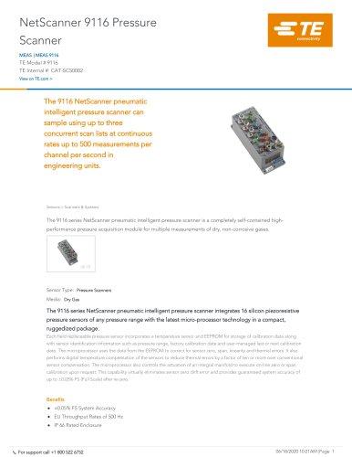 NetScanner 9116 Pressure Scanner