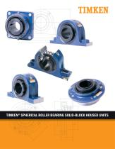 TIMKEN® SPHERICAL ROLLER BEARING SOLID-BLOCK HOUSED UNITS