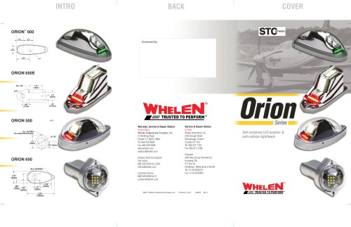 Orion Series