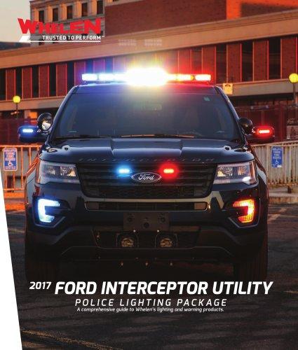 Police Lighting Package Interceptor Utility
