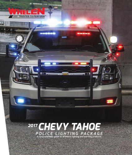 Police Lighting Package Tahoe