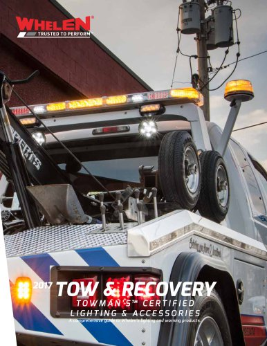 Tow and Recovery Catalog