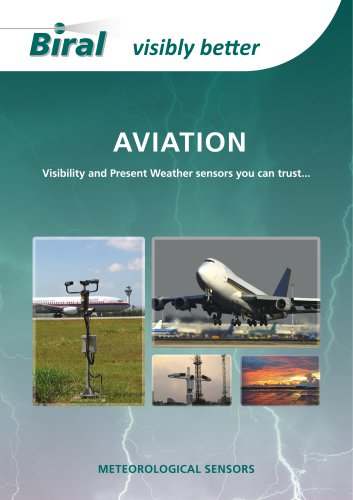 AVIATION Visibilty and Present Weather sensors you can trust