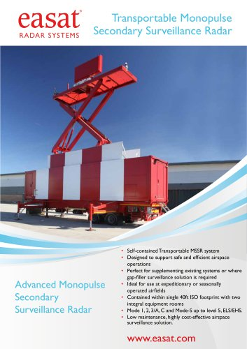 Transportable Monopulse Secondary Surveillance Radar