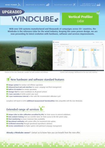 Brochure Windcube Vertical Profiler Lidar for Wind Power