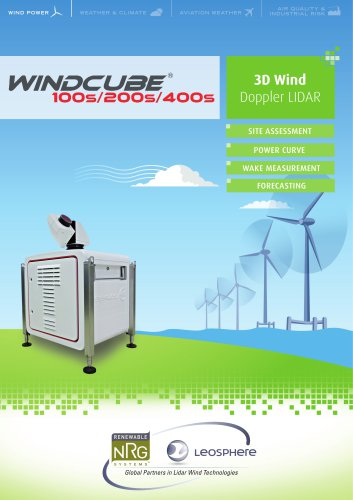 WindCube 100S-200S-400S for WindPower