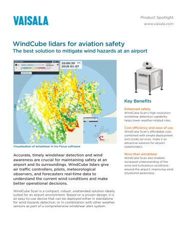 WindCube lidars for aviation safety