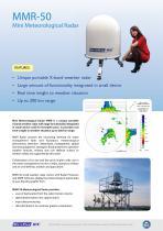 MMR Mini Meteorological Radar - 2