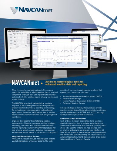 NAVCANmet Feature