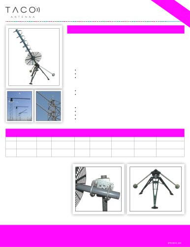 UHF SATCOM Fixed Helical Antenna