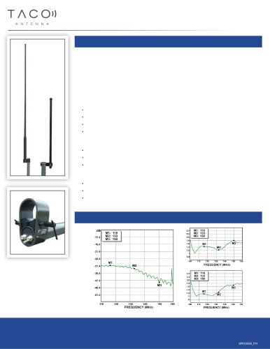 VHF Frequency Military Antenna
