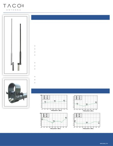 VHF/UHF Frequency Military Antenna