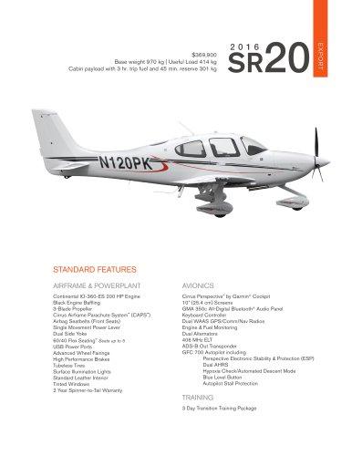 2016-SR20-Export-Pricesheet-v2
