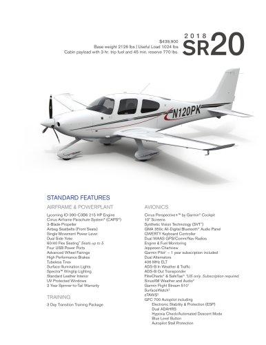 SR20 2018