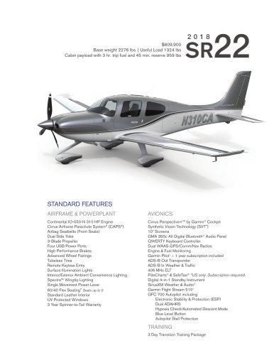 SR22 2018