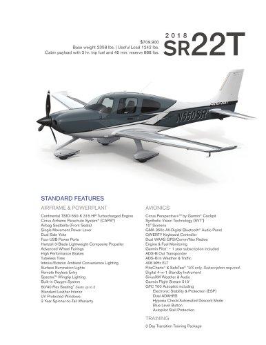 SR22T 2018
