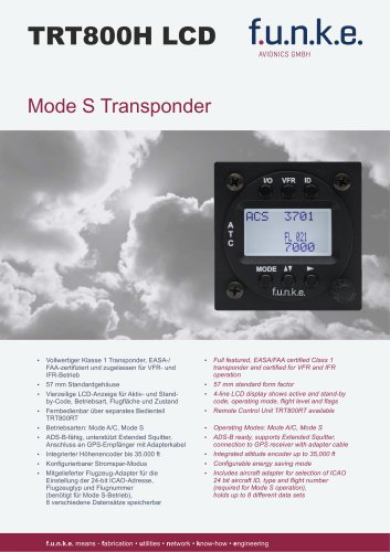 TRT800H-LCD