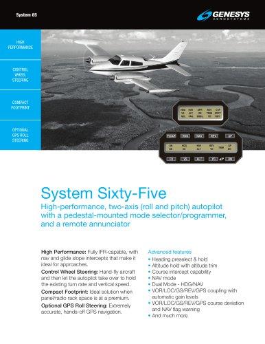 Genesys Aerosystems System 65