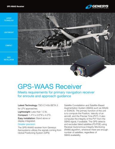 GPS-WAAS Receiver