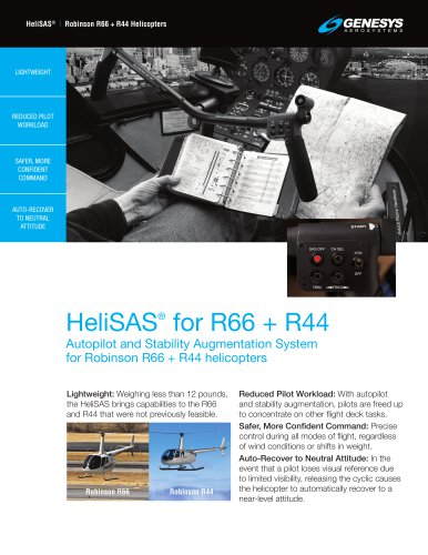 HeliSAS for R66 + R44
