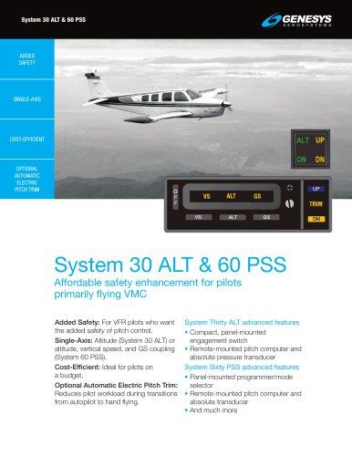 System 30 ALT & 60 PSS