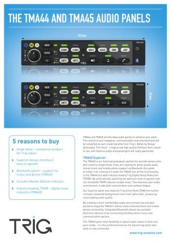 TMA45/44 Brochure