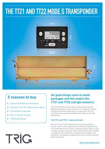 TT21 AND TT22 MODE S TRANSPONDER