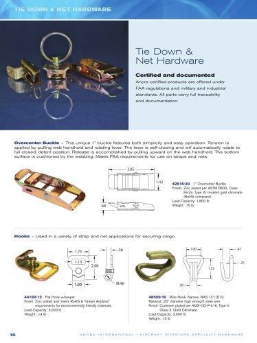Tie Down & Net Hardware