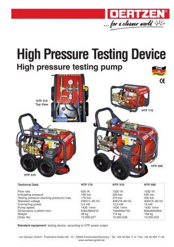 HP Testing Device
