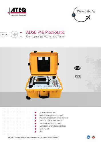 Air data test set ADSE 746