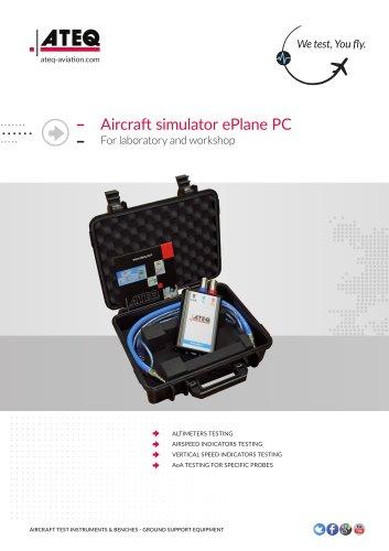 Aircraft simulator ePlane PC