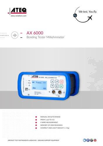 Milliohmmeter AX6000