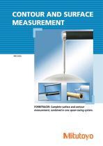 Contour & Surface Measurement