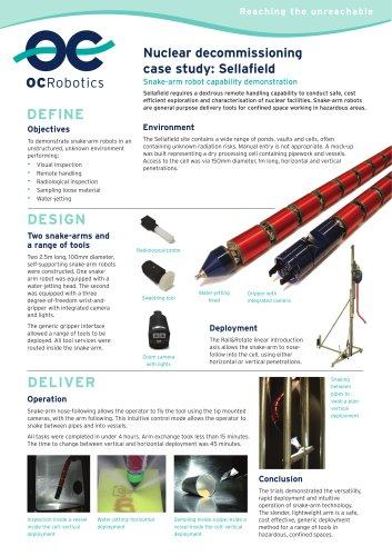 Sellafield - Remote Handling Case Study