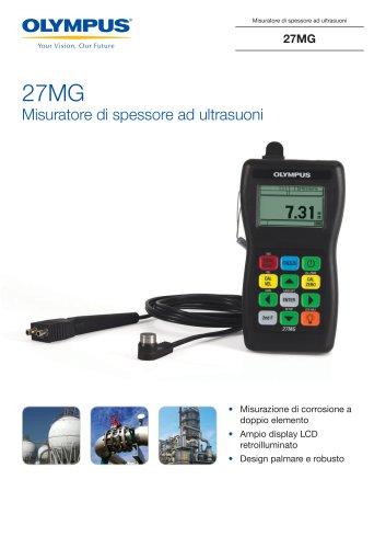 27MG Misuratore di spessore ad ultrasuoni