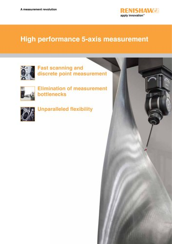 High performace 5-axis measurement