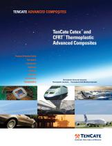 TenCate Cetex® Thermoplastic Brochure