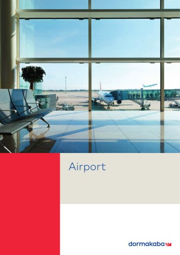 Airport solution catalogue