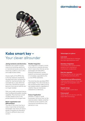 Kaba smart key