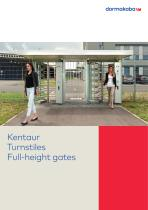 Kentaur Turnstiles Full-height gates