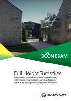 ures  Full Height Turnstiles Product Range Brochure Version 2017