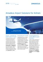 Amadeus Airport Solutions for Airlines