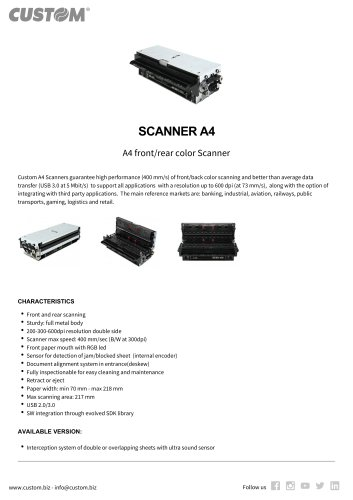 SCANNER A4