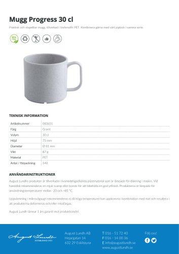 Mug Progress 30 cl